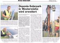 SolarPark Westerwiehe